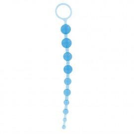 Toy Joy 10'' İnch 26 cm Mavi Anal Top Fantazi Boncuklar
