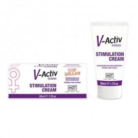 Vajina Uyarıcı Krem V-Active 50 ml. Bayanlara Özel Krem