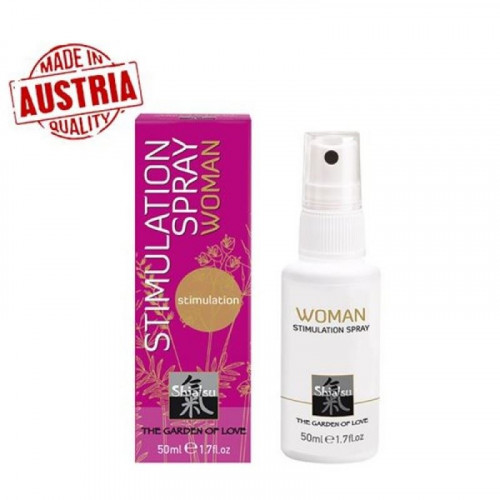 Hot Shiatsu Stimulation Spray Woman 50 ml Özel Orgazm Sprey