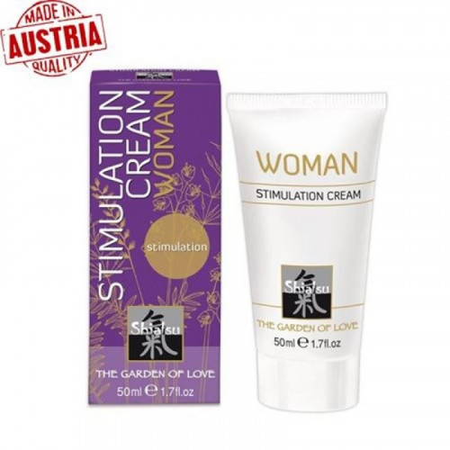 Hot Shiatsu Stimulation Cream Woman 50 ml Vajinal Krem