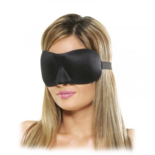 Pipedream Fetish Fantasy Saten Göz Kapalı Siyah Aşk Maskesi