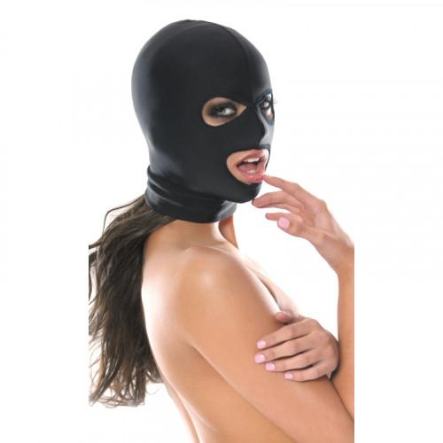 Pipedream Fetish Spandex 3 Hole Hood Ağız ve Göz Bölgesi Açık Fetiş Maske