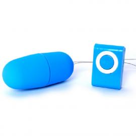 Vibrating Egg Remote Control Vibrator Kegel Vajinal Uyarıcı Mini Vibratör Mavi