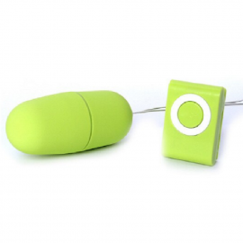 Vibrating Egg Remote Control Vibrator Kegel Vajinal Uyarıcı Mini Vibratör Yeşil