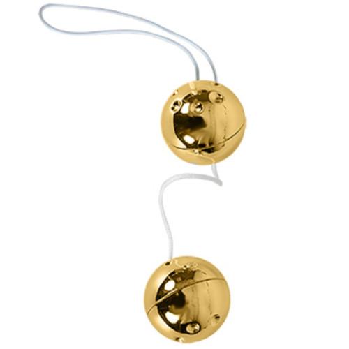 Smart Balls İkili Anal Fantazi Metal Gold Anal Top