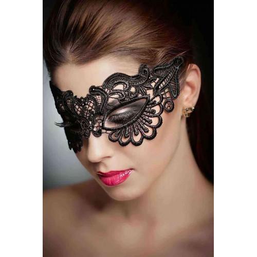 Fantazi Siyah Dantelli Göz maskesi