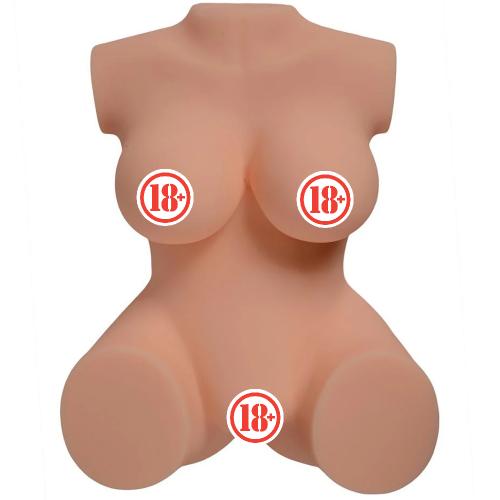 Annika Solid Doku Yarım Vücut Kadın Manken Masturbator
