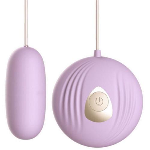 Scom Kumandalı Klitoris Uyarıcılı 7 Modlu Mini Vibratör Mor
