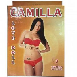 Camilla şişme manken