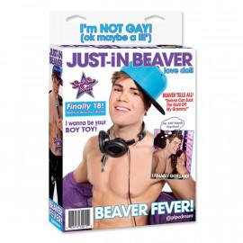 Justin Brave şişme erkek manken
