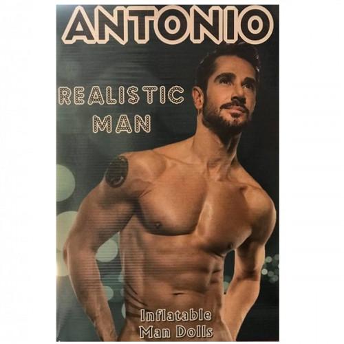 Antonio şişme erkek manken