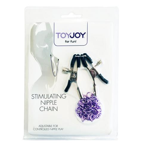 Toy Joy Stimulating Nipple Chain Göğüs Klipsi
