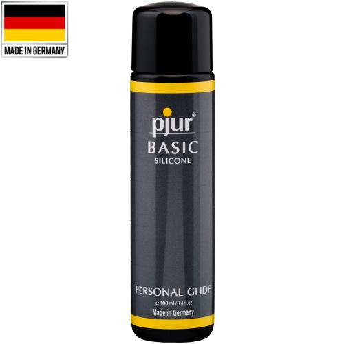 Pjur Basic Glide Natural Doğal Silikonlu Kayganlaştırıcı 100 ml