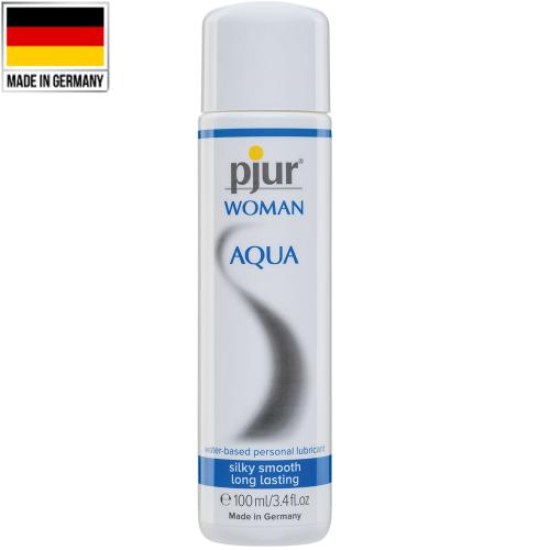 Pjur Woman Aqua 100 ml Nemlendiricili Kayganlaştırıcı Jel