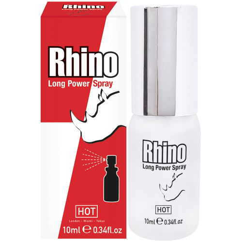 Hot Rhino Long Power Erkeklere Özel Penis Spreyi 30 ml