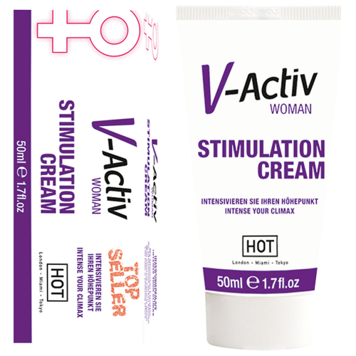 Hot V-Activ Women Cream Bayanlara Özel Klitoris Krem
