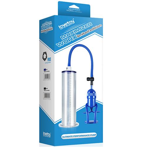 Lovetoy Maximizer Worx Limited Edition Blue Sınırlı Üretim Penis Pompası