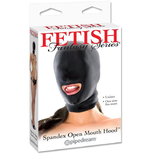 Pipedream Fetish Fantasy Göz Kapalı ve Ağız Bölgesi Açık Fetiş Maske