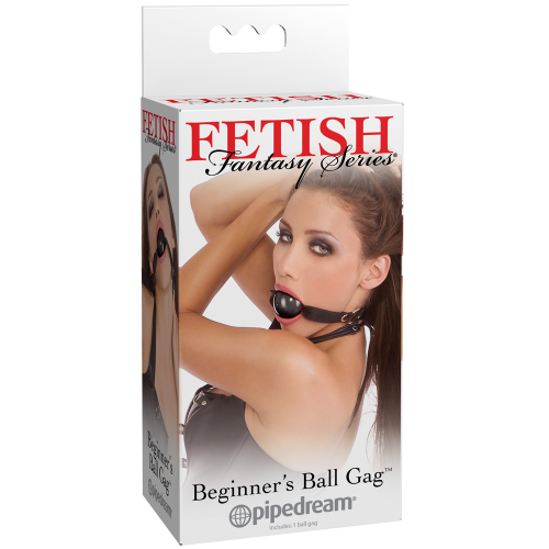 Pipedream Fetish Fantasy Series Beginner's Ball Gag Black