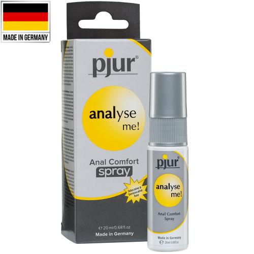 Pjur Analyse Me Anal Comfort Spray Anal Rahatlatıcı Sprey 20 ml