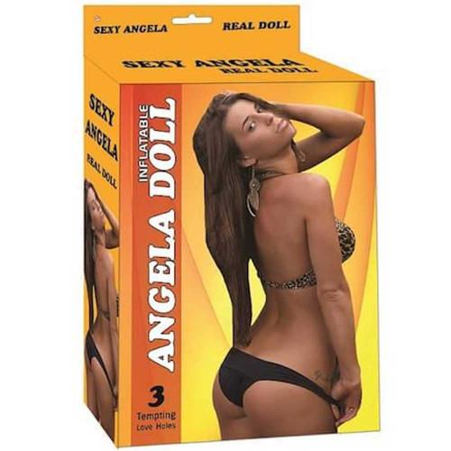 Angela şişme manken