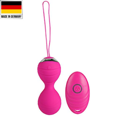 Benwa Balls Usb Şarjlı ve Uzaktan Kumandalı Mini Kegel Vibratör Pink