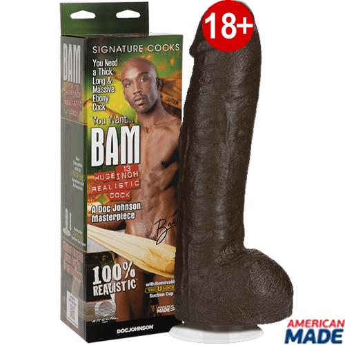 Doc Johnson Bam 13'' İnch 33 cm Realistik Penis