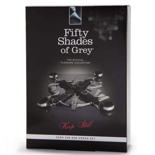Fifty Shades of Grey Grinin Elli Tonları Çapraz Bağlantı Yatak Esaret Seti