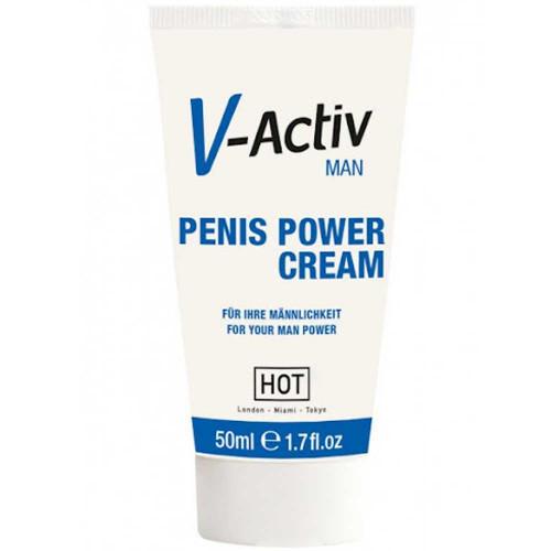 Hot V-Activ Erkeklere Özel Penis Kremi 50 ml.
