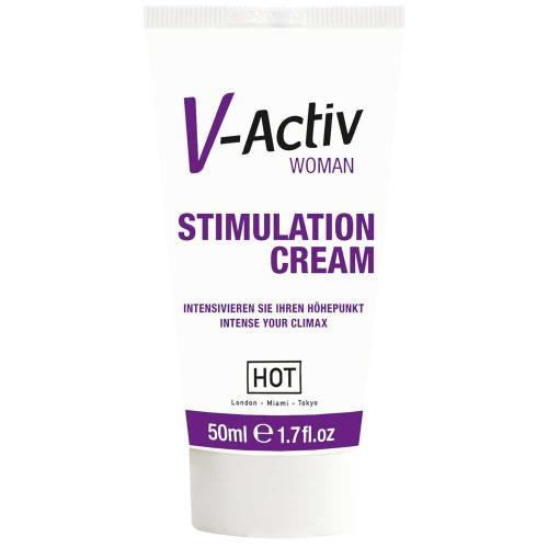 Hot V-Activ Women Cream Bayanlara Özel Klitoris Krem