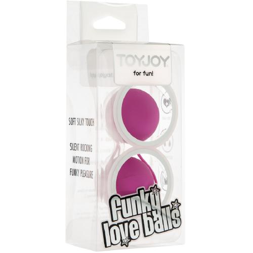 Toy Joy Funky Love Balls 2'li Kegel Top & Anal Top