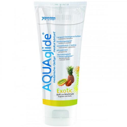 Joy Division Aqua Glide 100 ml Exotic Meyve Aromalı Kayganlaştırıcı Jel