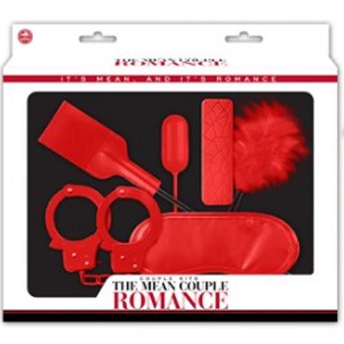 The Mean Couple Romance Fantezi Vibratör Fetiş Set Kırmızı