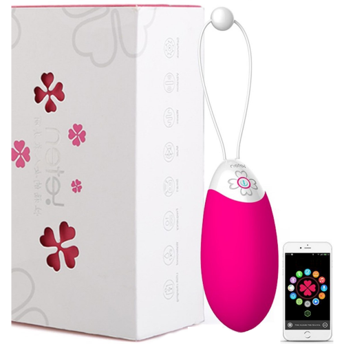 Leten Coco Akıllı Telefon Uyumlu Şarjlı Titreşimli Kegel Topu