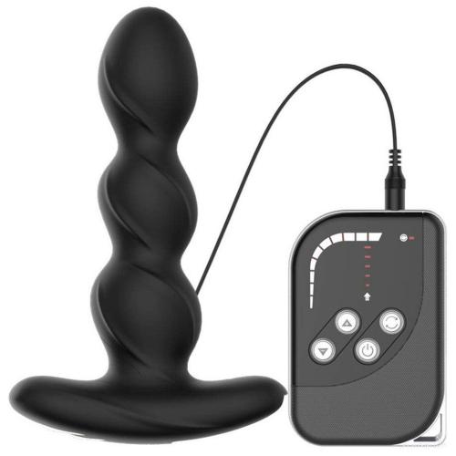 Leten Strom Elektriksel Uyarım Anal Vibratör Prostat Plug