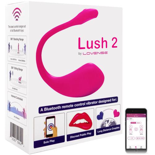 Lovense Lush 2.0 Yeni Nesil Telefon&Tablet Kontrol Vibratör 2020