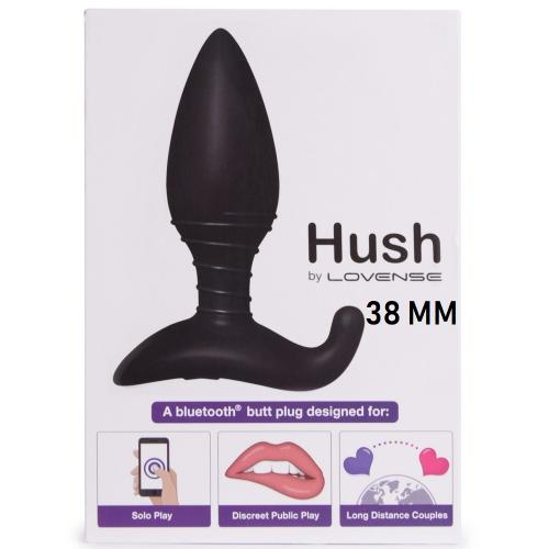 Lovense Hush 38 mm Akıllı Telefon Uyumlu Silikon Tıkaç Vibratör