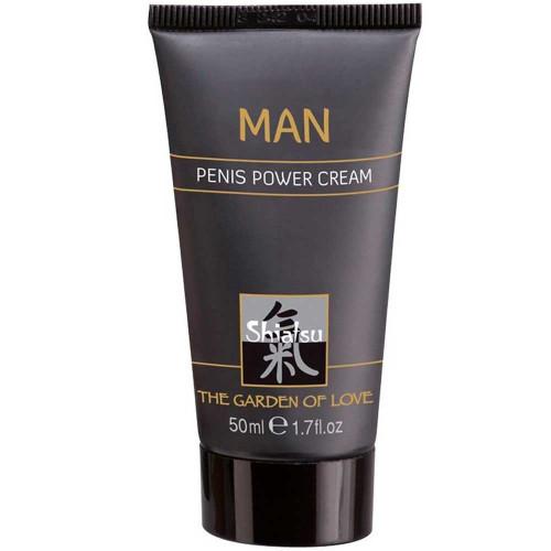 Hot Shiatsu Penis Power Cream Erkeklere Özel Penis Kremi