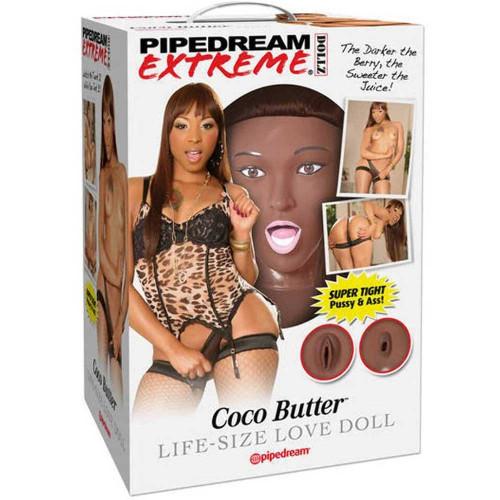 Pipedream Coco Butter Realistik Şişme Manken