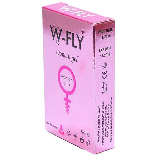 W-Fly Woman Sensitive Gel Mini Paket 5'li