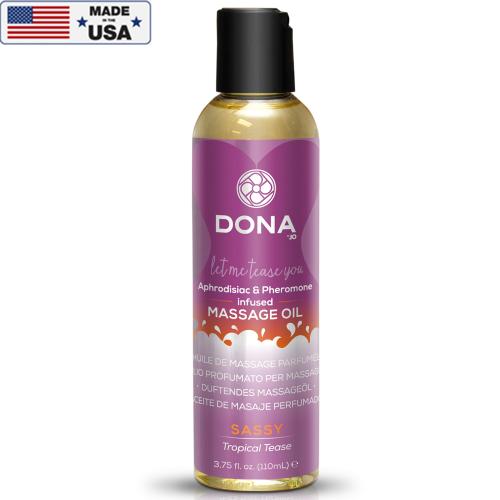 Dona Massage Oil Tropical Tease 110 ml Tropikal Masaj Yağ Losyon