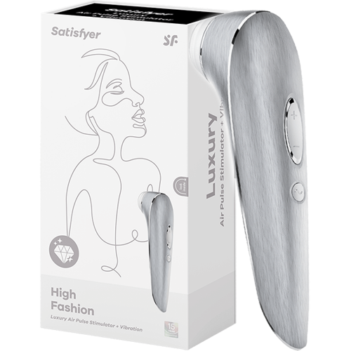 Satisfyer Luxury High Metal Emiş Güçlü Vibratör