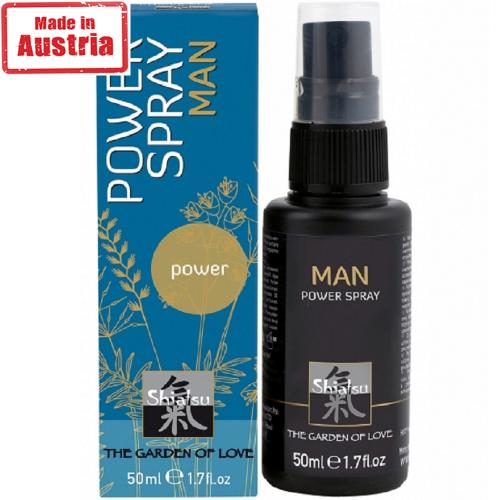 Hot Shiatsu Penis Power Spray Erkek Özel Penis Spreyi 50 ml.