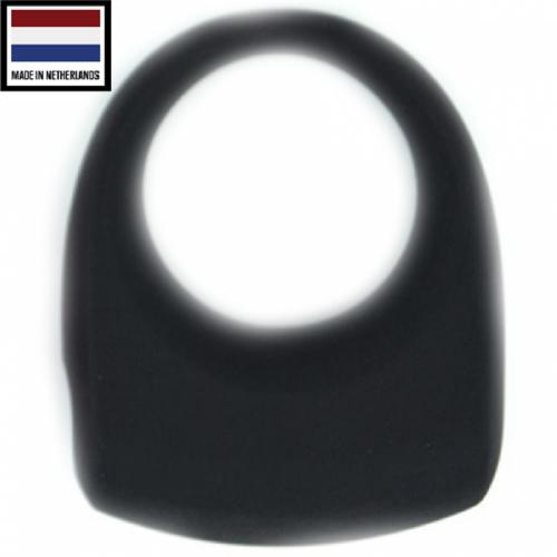Silicone Multi Speed Siyah Cock Ring EX Titreşimli Penis Halkası