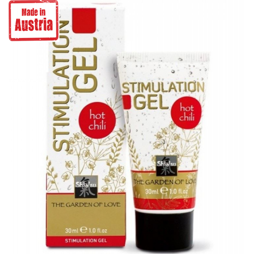 Hot Shiatsu Stimulation Jel Hot Chili Woman 30 ml Özel Krem