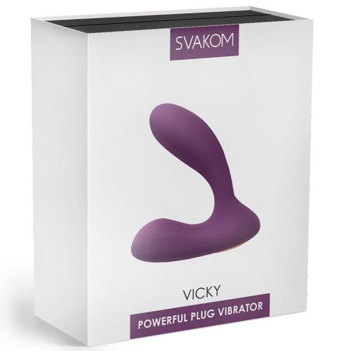 Svakom Vicky Çift Motorlu Güçlü Prostat Masaj Aleti