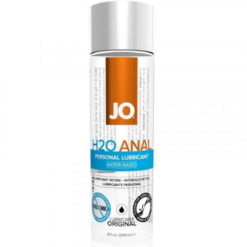System Jo Anal H2O Lubricant 240 ml Natural Anal Kayganlaştırıcı