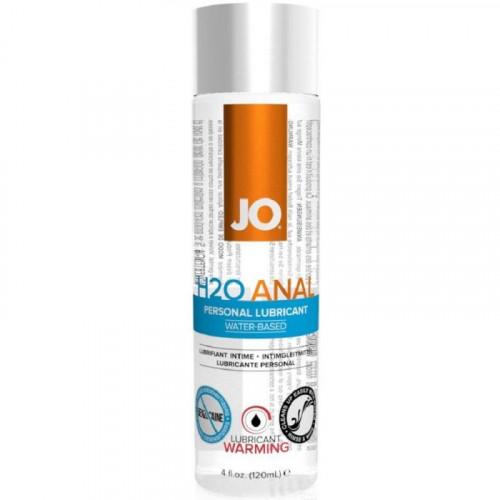System Jo Anal H2O Lubricant Warming 120 ml Isıtıcılı Anal Kayganlaştırıcı