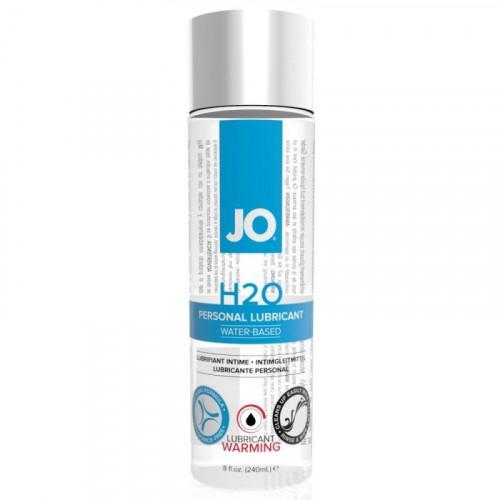 System Jo H2O Lubricant Warming 240 ml Isıtıcılı Kayganlaştırıcı