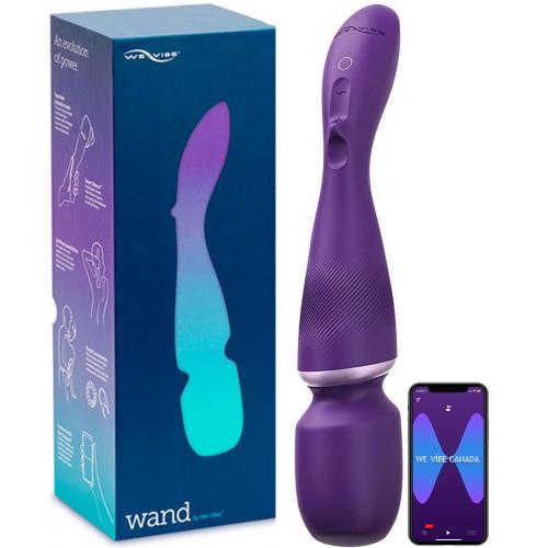 We-Vibe Wand Ultra Güçlü Telefon Kontrollü Masaj Aleti